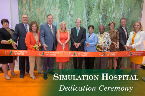 Sim Hospital Dedication